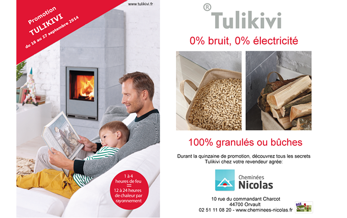 Promotion Tulikivi