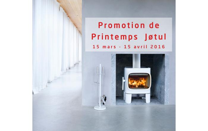 PROMOTION DE PRINTEMPS JOTUL