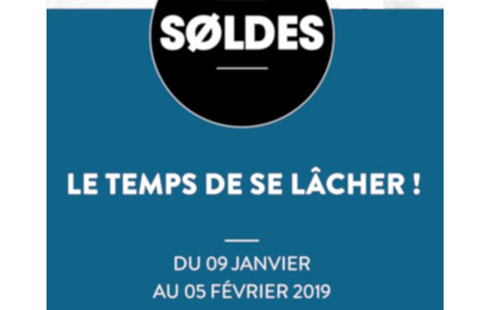 SOLDES D'HIVER DU 9 JANVIER AU 5 FÉVRIER 2019