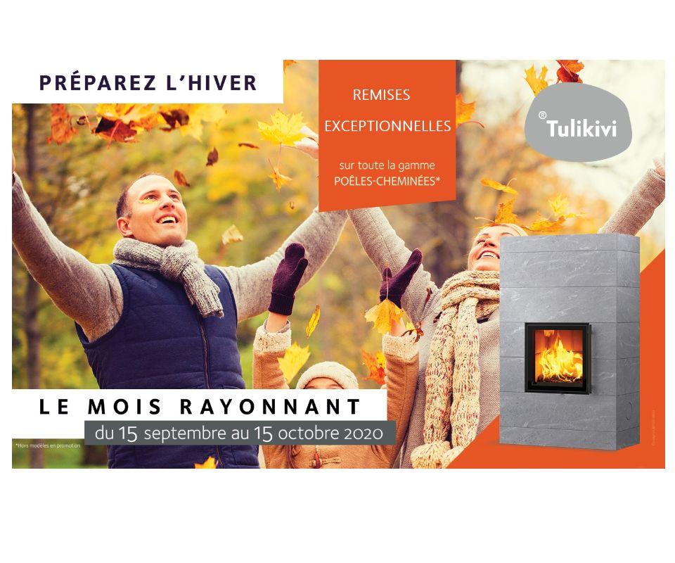 Préparez l'hiver avec TULIKIVI !